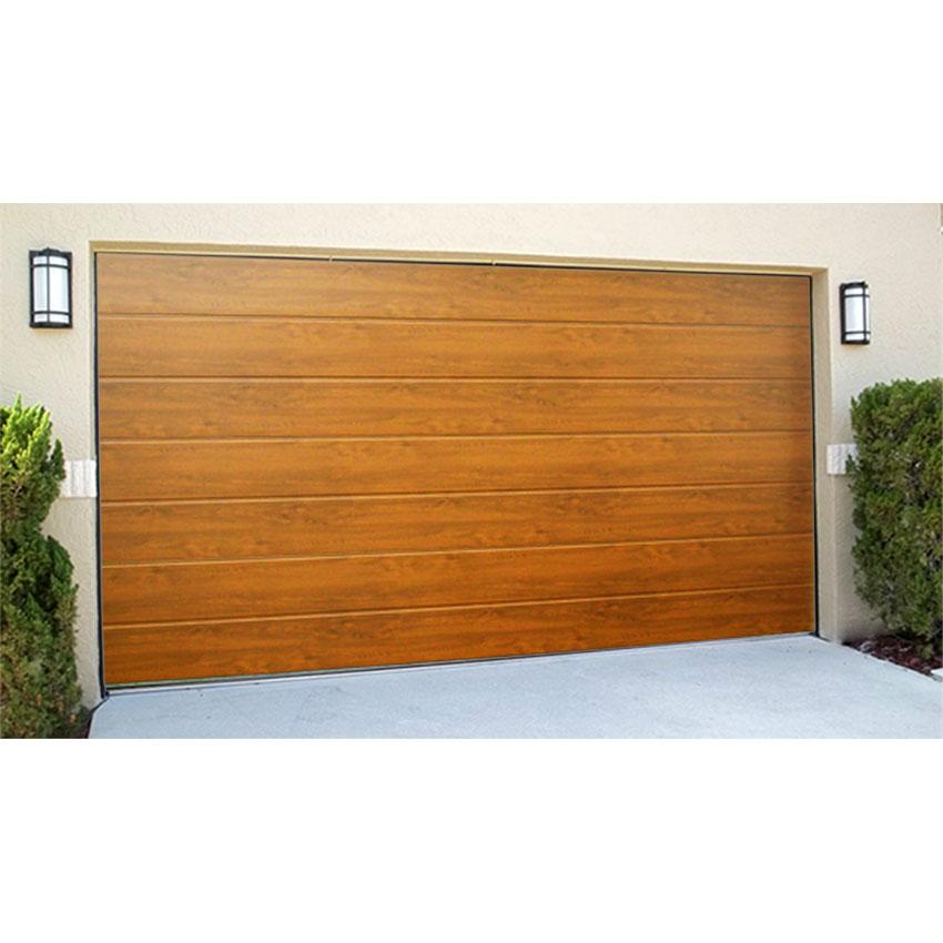 et accessoires, Gouden Eik Sectionaaldeur (2m40 * 2m) - Doors & Motors